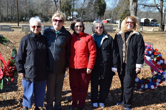 Ladies Auxiliary North Carolina Society Sons of the American Revolution.