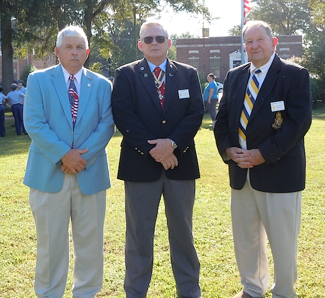 Halifax Resolves chapter members attend the 9/11 event in Roanoke Rapids on September 11, 2015.