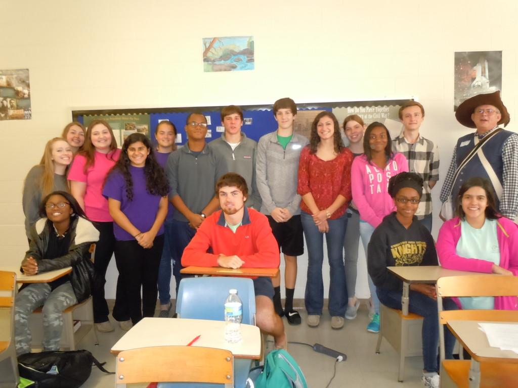 Northern Nash HS AP History Class