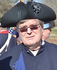 Jack Bowman, President, Catawba Valley Chapter, North Carolina SAR
