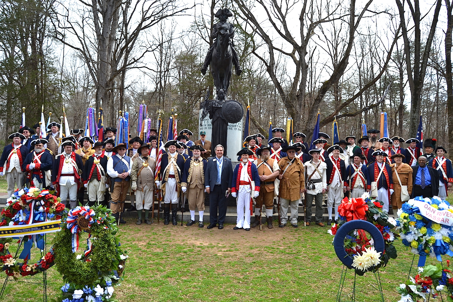 The National SAR gathers for a photo following the ceremony.