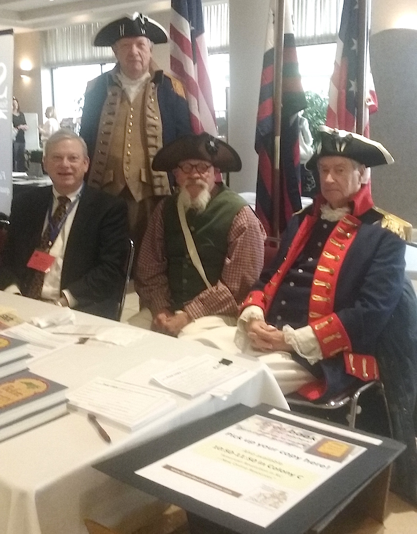 North Carolina SAR members gather at the NC Council for the Social Studies annual convention in Greensboro, NC on Feb 26 and 27 2016.