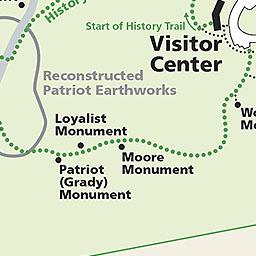 Moore's Creek Battleground Map