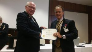 Steve Avent receives Recognition
