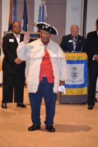 Ed Carter sworn in as President