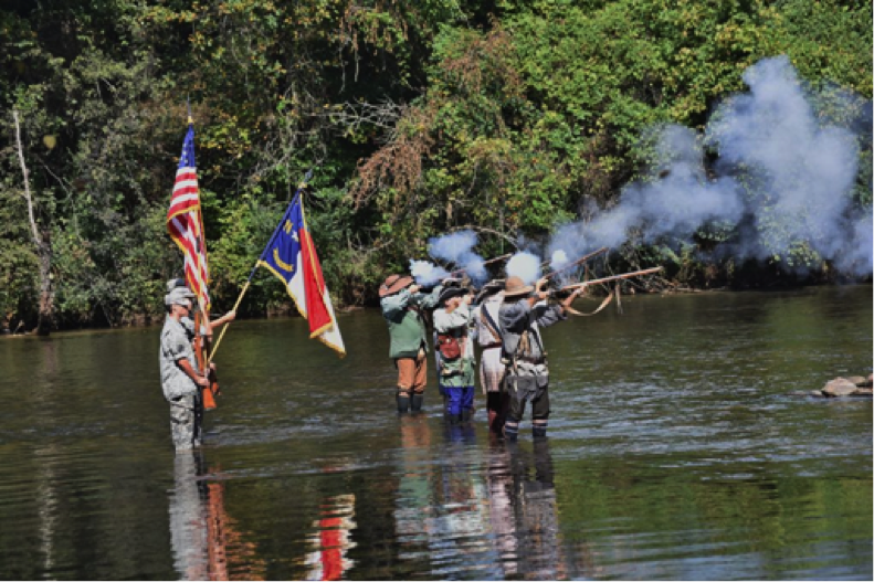 The 239th Crossing of the Catawba River at Greenlee Ford in Morganton, NC, is set for September 28 2019.