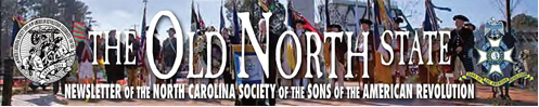 The Old North State Newsletter from the North Carolina SAR