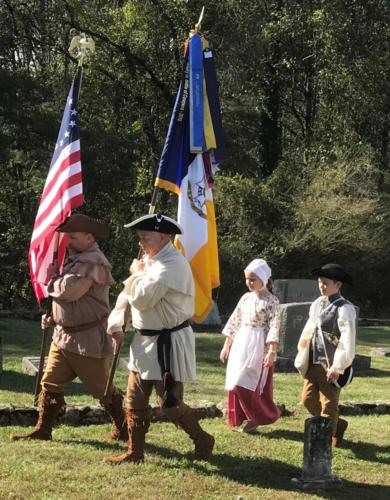 Presentation of Colors-Oct. 13, 2018